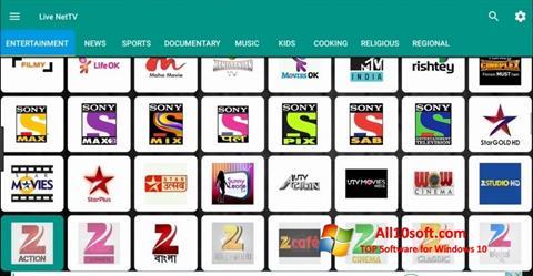 Снимак заслона Net TV Windows 10