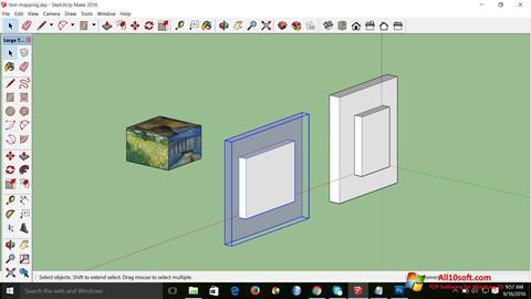Снимак заслона SketchUp Make Windows 10