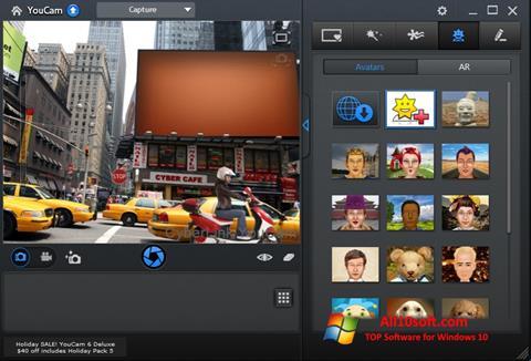 Снимак заслона CyberLink YouCam Windows 10