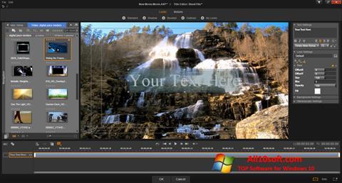 Снимак заслона Pinnacle Studio Windows 10