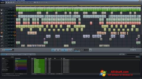 Снимак заслона MAGIX Music Maker Windows 10
